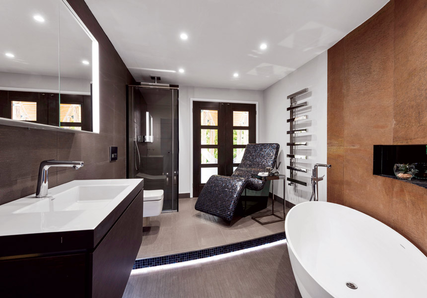 Gallery Showroom Bathroom Settings - Lisa Melvin Design